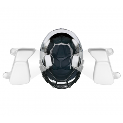 Jaw Pad droite Riddell Speed Gonflable S-Pad