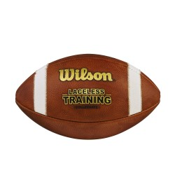 Ballon de football americain Wilson Laceless Training