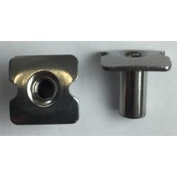 T-Nut 3/8 Schutt écrou 0.95cm pour attache grille et nose bumper