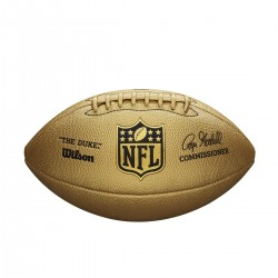 Ballon Wilson NFL The Duke Metallic Edition Gold