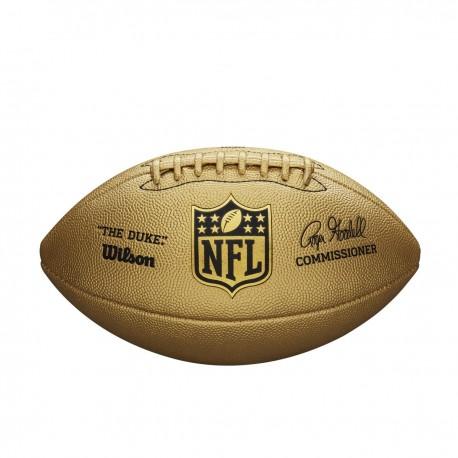 11ed17bda0156 Ballon de football américian Wilson NFL The Duke Metallic Edition Gold
