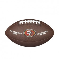 Ballon Wilson NFL Licensed San Francisco Forty Niners