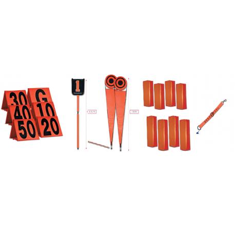 Kit d'équipement de terrain pour le game day
