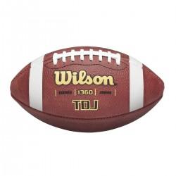 Ballon de football américain en cuir Wilson TDJ 1360 Junior