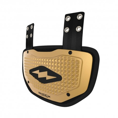 Back Plate Shock Doctor Gold 3D Pyramid