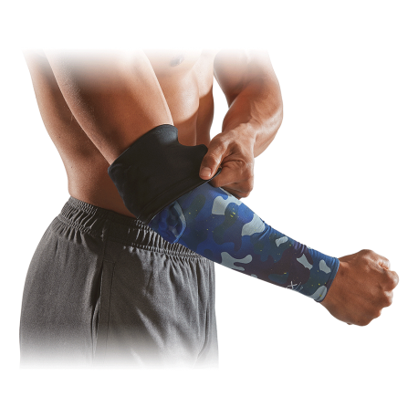 Hexpad Power Shooter Arm Sleeve McDavid reversible (manchon compression protection du coude)