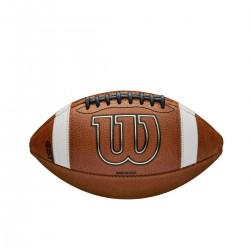 Ballon de football américain en cuir Wilson TDY GST 1320