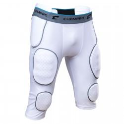 Boxer 7 protections Champro 2 cuisses, 2 hanches, 1 coccyx et 2 genoux