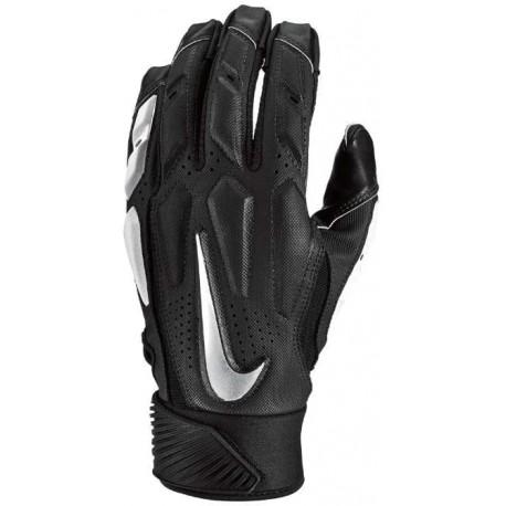 Gants de football américain Nike D-TACK 6 Noir