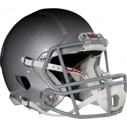 Casque Riddell Speed M, Rouge, Metal silver