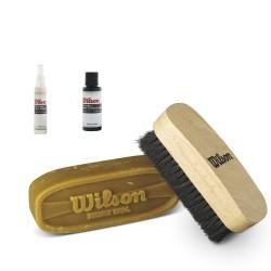 Kit complet d'entretien Wilson de ballon en cuir