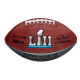 Ballon NFL de football américain Wilson The Duke Super Bowl LI