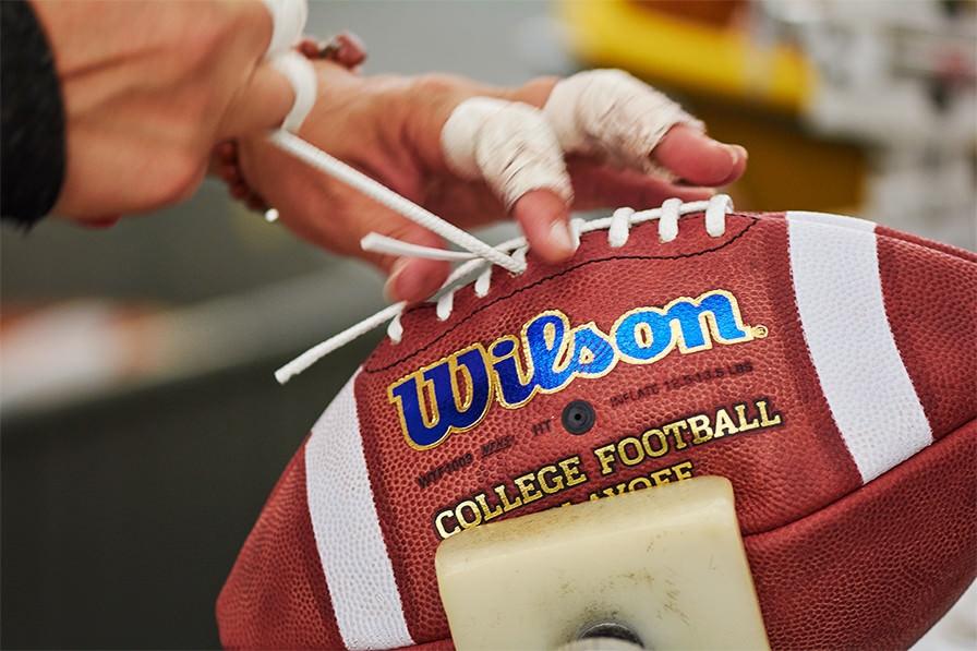 Ballon wilson foot américain